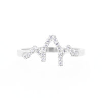 Julien Jewelry Heartbeat Collection Pavée