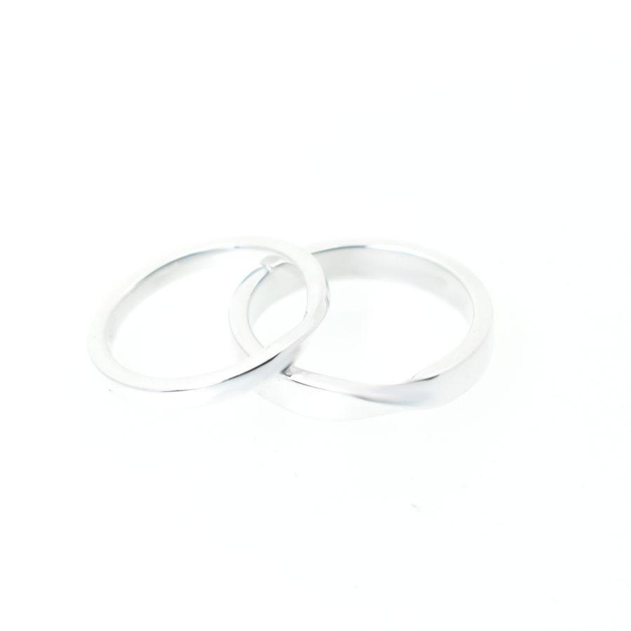 Julien Jewelry Wedding rings twist