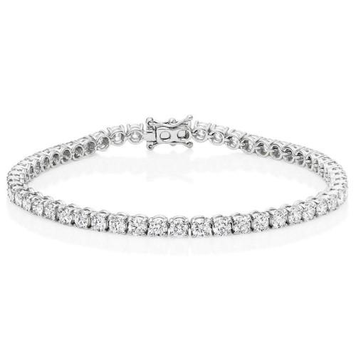 Julien Jewelry Tennis Bracelet 2018 6,00ct white gold julien de maere small