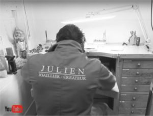 Julien, passionate for jewelry